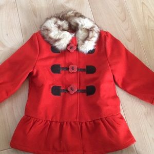 Gymboree Girls size XS (3-4) coat. New with tags